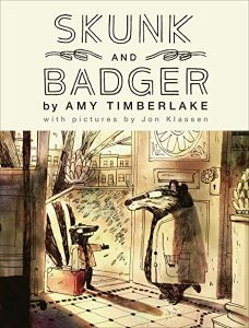 Skunk and Badger cover